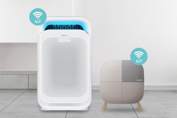웰스, '웰스 공기청정기 IoT' 2종 출시