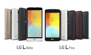 LG, 3G용 스마트폰 `L피노`·`L벨로` 공개