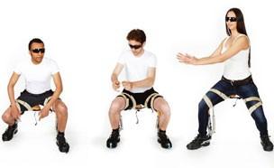 '의자 없이' 앉을 수 있는 의자?