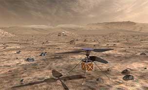 헬기형 무인항공기 드론, '화성 탐사' 가능?