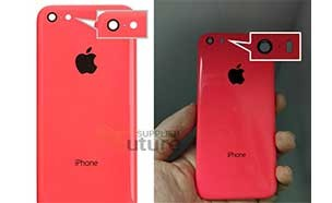 아이폰6C 뒷면 커버, 화면크기 4인치?