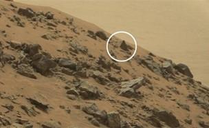 화성에 외계인 피라미드?...큐리오시티 촬영사진