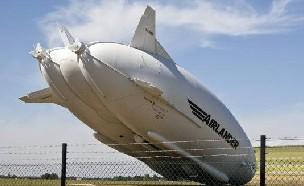 세계최대 비행체 기체 파손