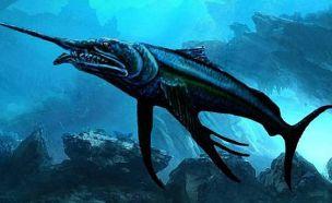 거대한 이빨…1억년전 황새치 화석!