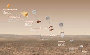 유럽 화성착륙선, 화성표면 불시착…폭발한듯