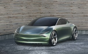 제네시스가 세계 최초로 공개한 전기차 기반 콘셉트카 '민트'