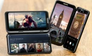 미리보는 LG 듀얼스크린 후속작···커버 알림창에 TV까지 연결?