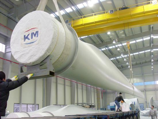 [대한민국 풍력발전]부품기업