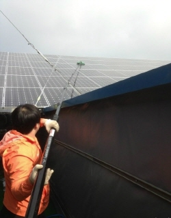 솔라플러스 태양광 청소 서비스