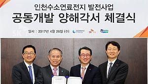 중부발전, 부생수소 연료전지 사업 협약