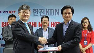 한전KDN, 베트남 전력공사 ICT센터와 협력