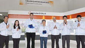 한화큐셀, 태양전지 10억장 양산 달성