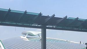신재생 발전소?…인천공항 T2 현장