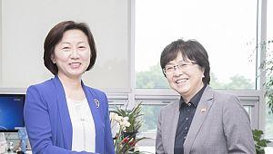 환경 장관, 송옥주 의원에 '환경정책 지원' 요청