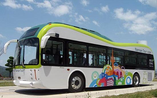 친환경 전기버스 서울시내 달린다