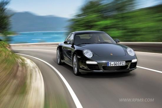 남자는 블랙! 포르쉐 911 블랙 에디션