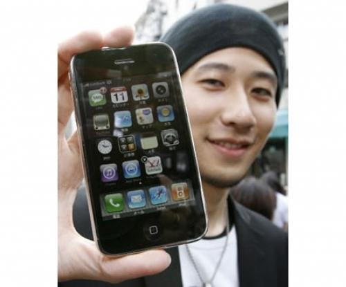 가장 먼저 아이폰 3G를 구입한 일본 사람