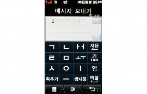 한글이 과학적인 글자라는 것은 휴대폰의 숫자 버튼만으로 빠른 입력을 할 수 있는 것만 봐도 알 수 있다.