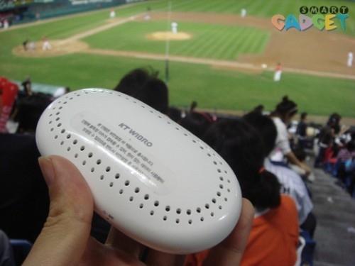 무선 인터넷용 휴대 단말기, KT 와이브로 에그