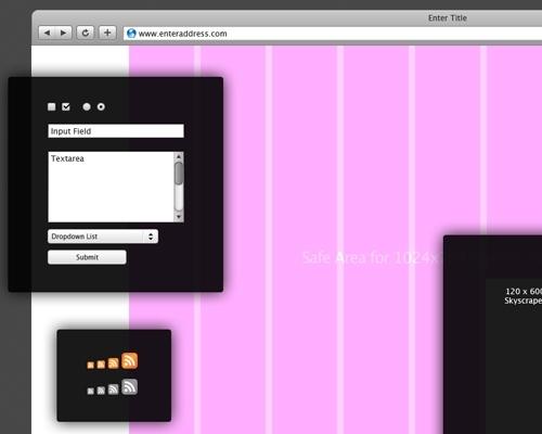 웹 디자이너도 탐내는 탬플릿 UI