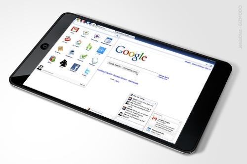 크롬 태블릿PC? 영민한 구글의 수족 HTC