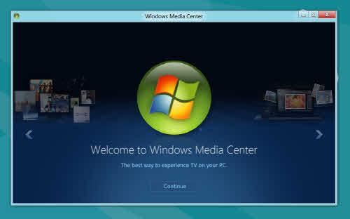 윈도8 미디어 센터를 이용해 HDTV 시청과 녹화가 가능하다.