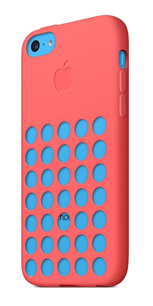 <center>▲ iPhone 5C 실리콘 케이스</center>