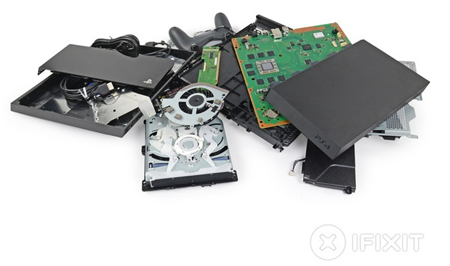 [라디오키즈의 아이템&트렌드]소니의 플레이스테이션 4(PS4) 분해기... by ifixit...