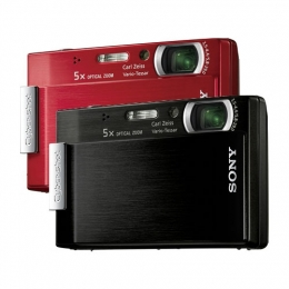 디지털카메라  판매 데이터에서 1위를 기록한 소니 사이버샷 DSC-T100