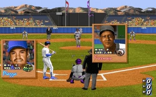 '하드볼 3'의 그래픽은 지금 보면 조잡하지만 당시에는 훌륭하다는 평을 받았다.