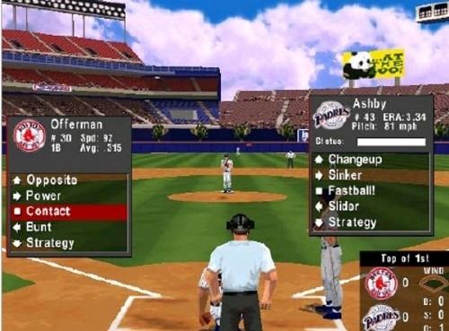 마지막 하드볼인 '하드볼 6'. MLB 라이선스를 가지고 있었고 3D 그래픽까지 도입했지만 좋은 평가를 받지 못했다.