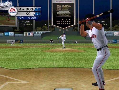 C로 발매된 야구 게임 중 가장 완벽한 게임이라는 평가를 받는 EA의 'MVP 베이스볼 2005'.