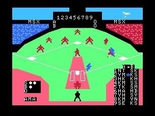 위쪽부터 '파나소프트 야구' '코나미 야구' '야구광'. MSX 시절을 대표하는 야구 게임이다.
