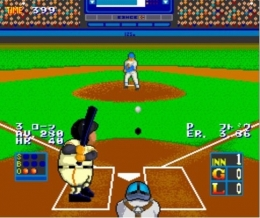 데이터이스트의 '스타디움 히어로'. 당시 오락실의 게이머들은 일본어를 읽지 못해 선수의 타율을 애칭 삼아 부르기도 했다. 0.499면 사구구의 식으로.