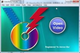 ① [Open Video]를 눌러 소스 파일(*.ts 파일)을 불러온다.