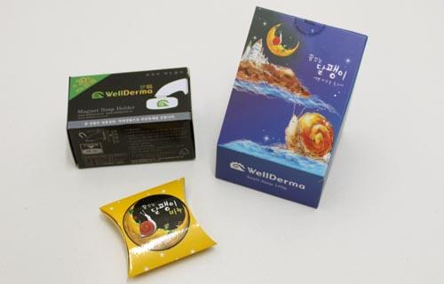 ▲ 웰더마가 판매중인 꿈꾸는 달팽이비누. 달팽이비누를 고를 때에는 단백질 함량 등을 따져보는 게 중요하다. 제조사에 따르면 이 제품은 단백질 함량이 1.25%로 일반 제품보다 2배 가량 많다.