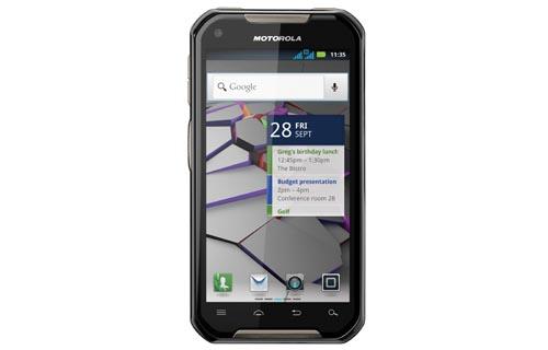 모토로라 더블비, '무전기·3G 스마트폰 한몸에?'