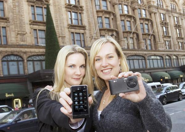 LG 카메라폰, 유럽 14개국 출시