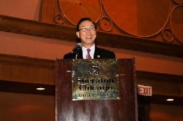 """주창언 티아이메디칼시스템즈 사장은 20일 열린 기자간담회에서 """"올해 매출목표를 350억원으로 잡았다""""고 설명했다."""