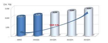 DB소프트웨어 시장 전망(2009년~2013년)
