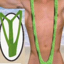 옥스포드영어대사전에 당당히 등재된 남성용 `맨키니` 수영복