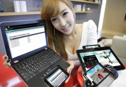 KT가 올해 출시를 준비 중인 스파이더폰.