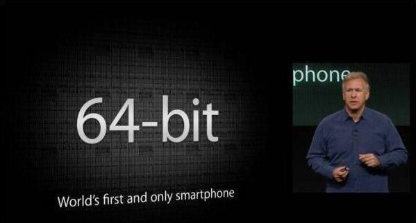 애플은 아이폰5S에 64비트 애플리케이션프로세서(AP)를 처음 적용했다.