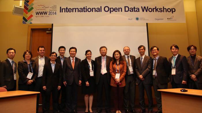 NIA, 2014 국제 공공데이터 개방 워크숍개최