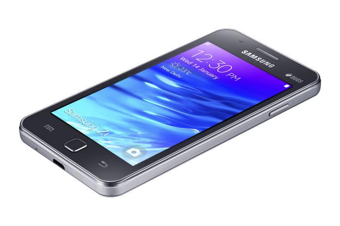 삼성전자는 14일(현지시각) 인도 뉴델리에서 자체 운용체계(OS) 타이젠을 탑재한 최초의 스마트폰 `Z1`을 출시했다.