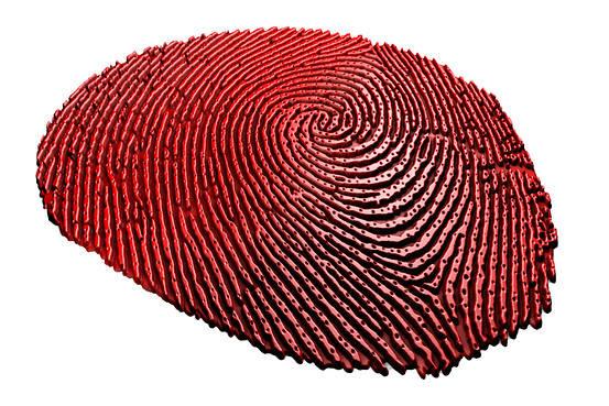 글로벌 반도체 업체 퀄컴이 3D 초음파 지문인식 기술 '스냅드래곤 센스ID(Sense ID)'를 최근 발표했다고 3일 포브스 및 주요 외신은 전했다. 이처럼 세계 반도체 업계가 차세대 먹거리로 생체 인식을 눈여겨보고 있다. 사진은 퀄컴의 센스ID로 읽어들인 지문 정보. <자료: 퀄컴>