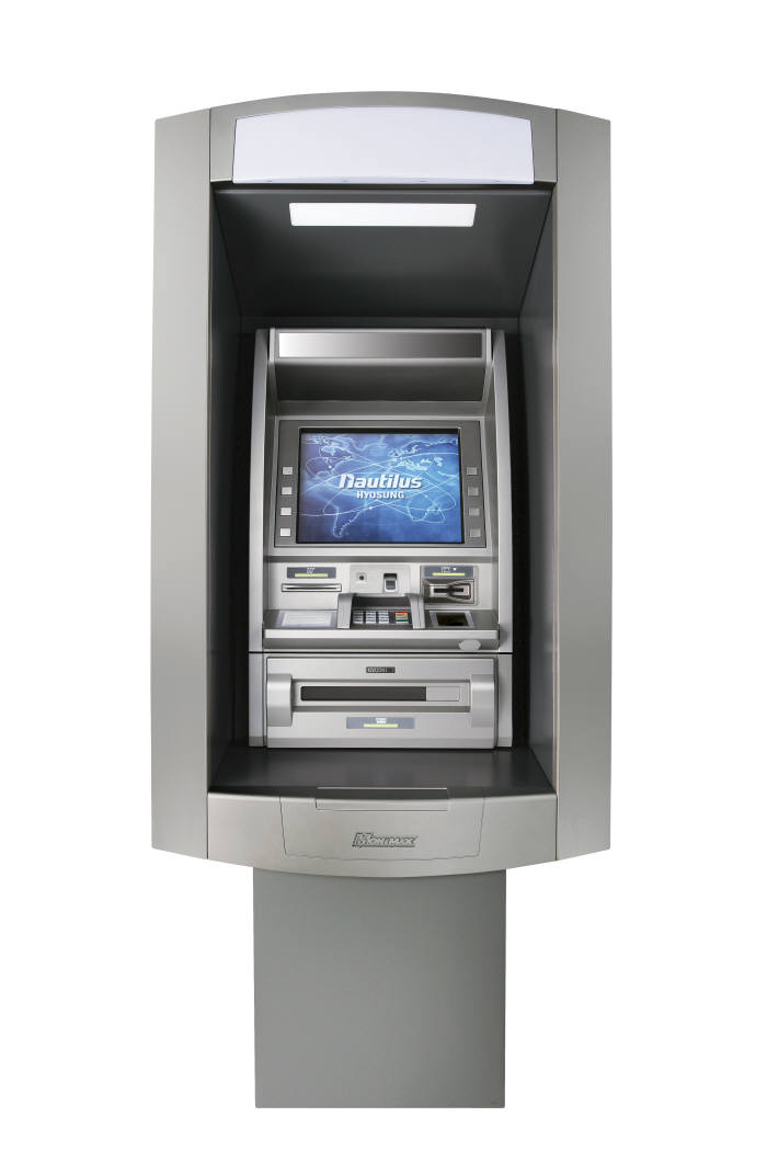 노틸러스효성, 나이지리아에 지문인식 ATM 공급