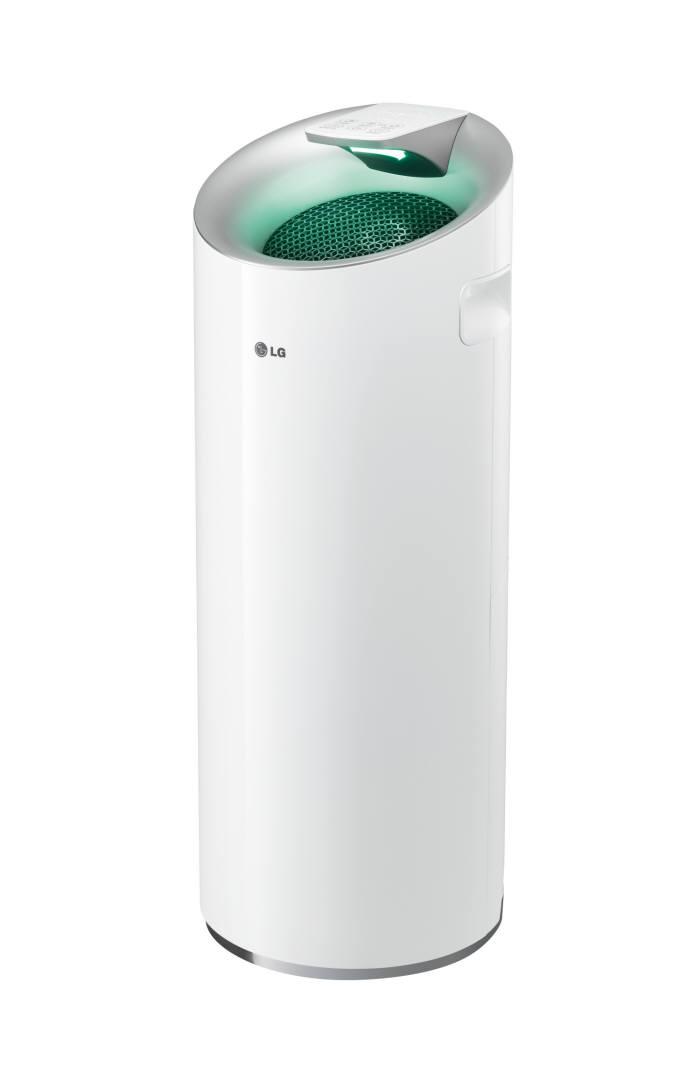[이버즈리뷰] 대기오염 전문 필터로 초미세먼지까지 잡는다...LG전자 공기청정기 'LA-W119PW'