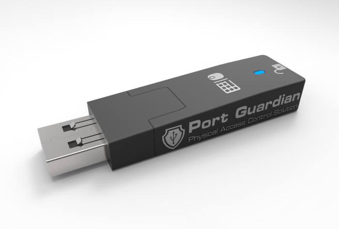 포트가디언 `MK링커`는 USB 차폐는 물론이고 바이오스 조작 방지 기능도 수행한다.