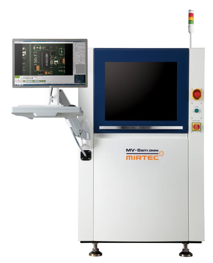 미래기술이 개발한 3D 자동광학검사 장비 MV-6em OMNI.